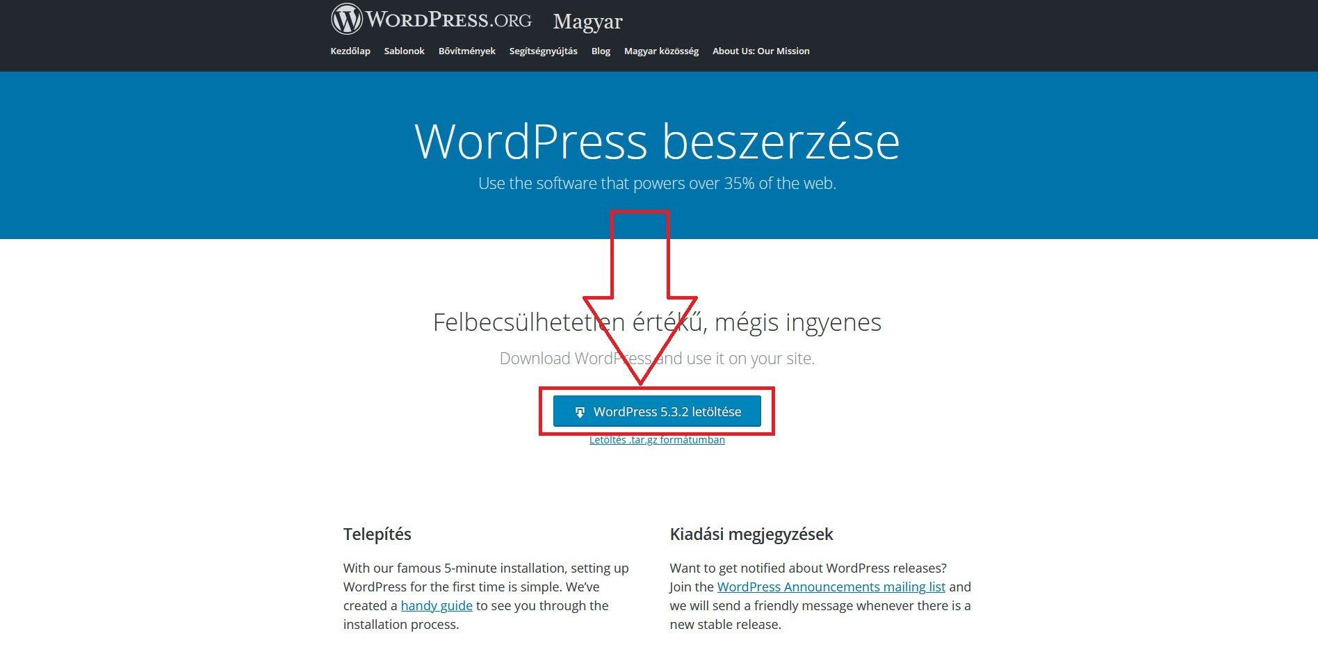 wordpress-telepitese-localhostra-16