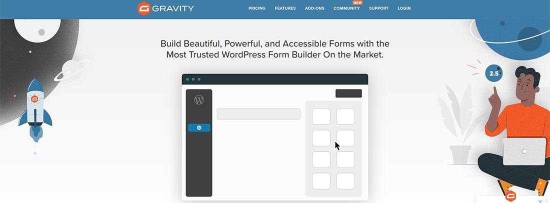 6+1 legjobb wordpress kapcsolati urlap bovitmeny gravity forms